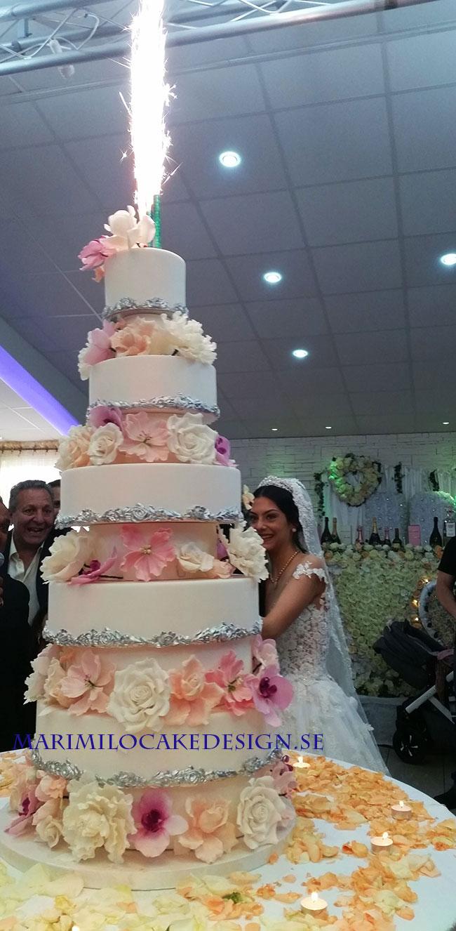Stor Bröllopstårta Pris