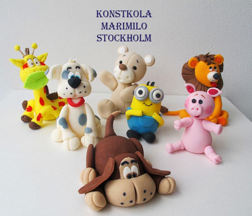 Konstskola Hantverk Pyssel för Barn Stockholm