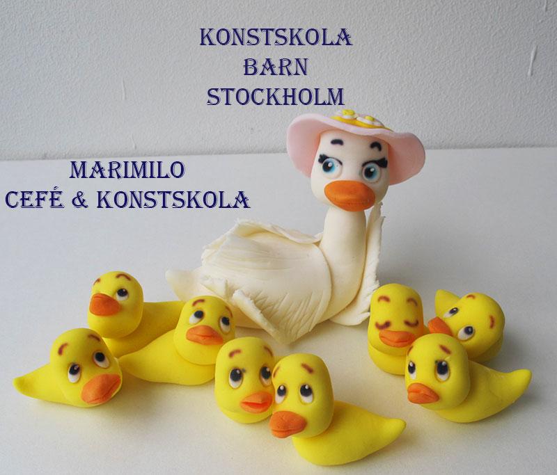 lilla konstskola för barn Stockholm