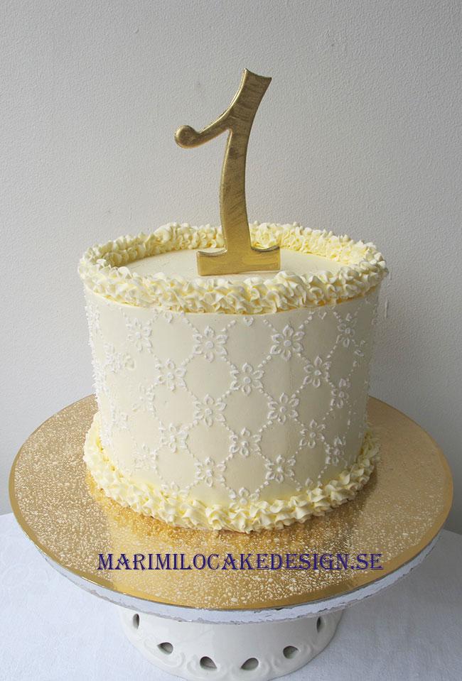 1 års tårta
