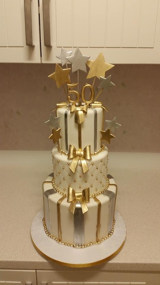 födelsedagstårta 50 år