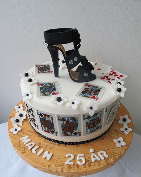 Casino tårta