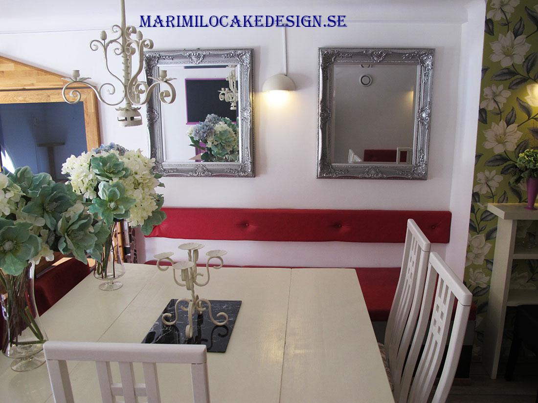 Festlokal att hyra från 10- 32 personer sittande övervåning