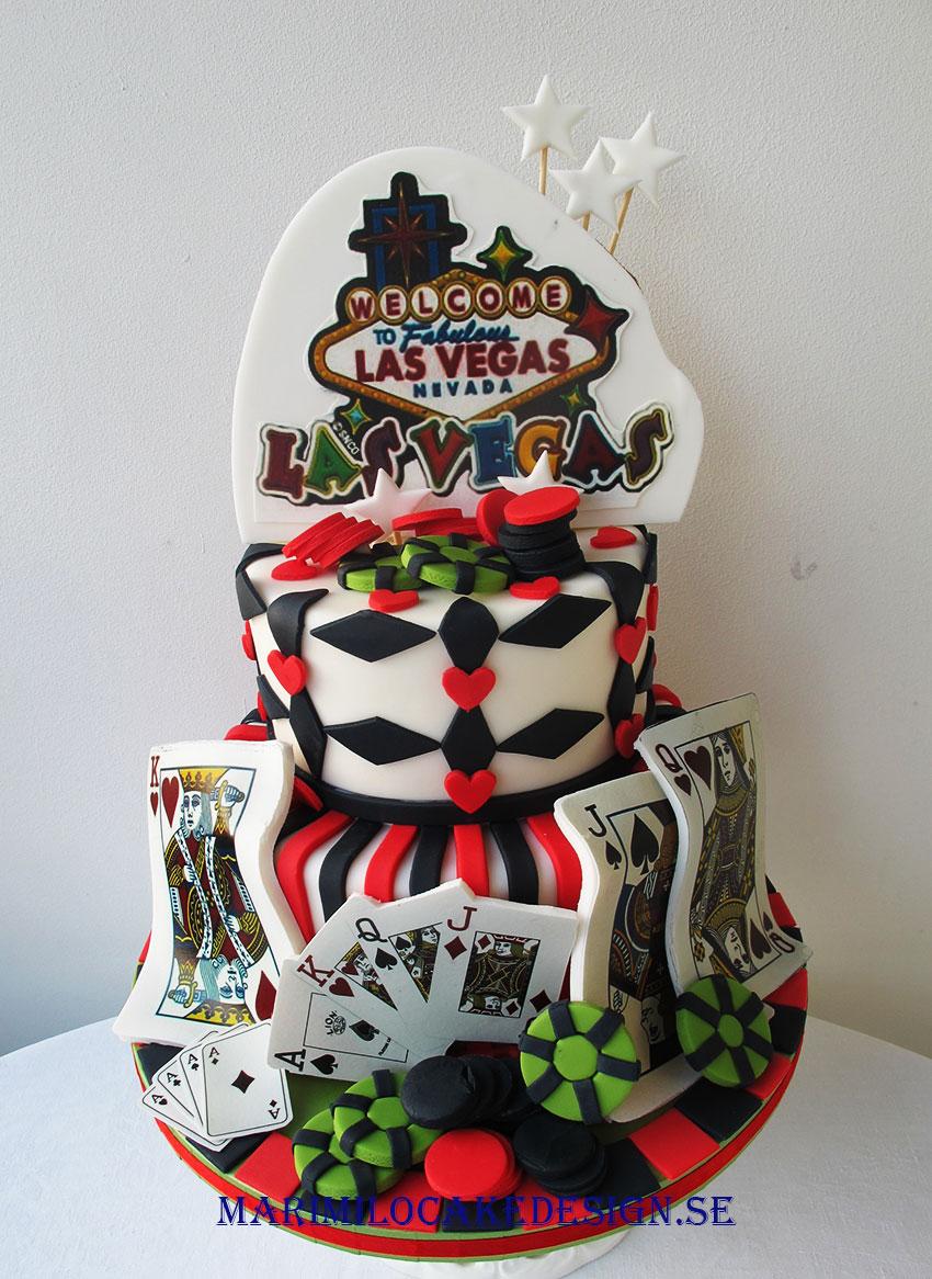 Las Vegas tårta