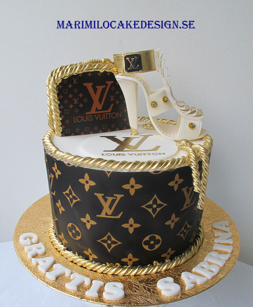 Louis Vuitton Tårta