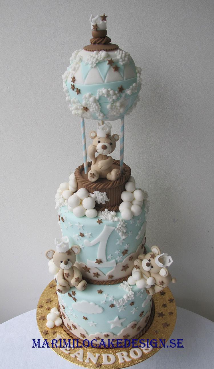1 års tårta pojke