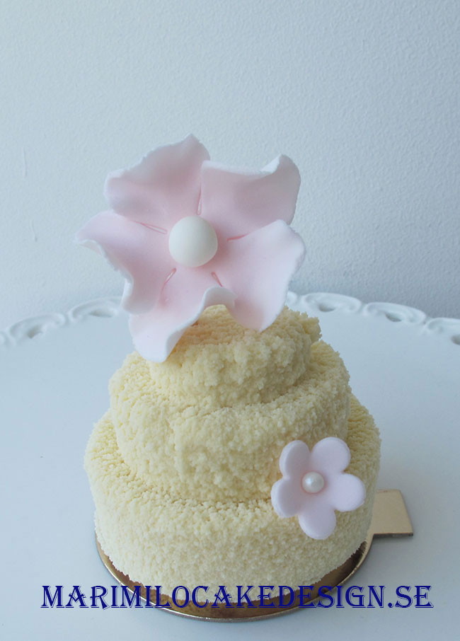 Glutenfri bröllopstårta 1 person