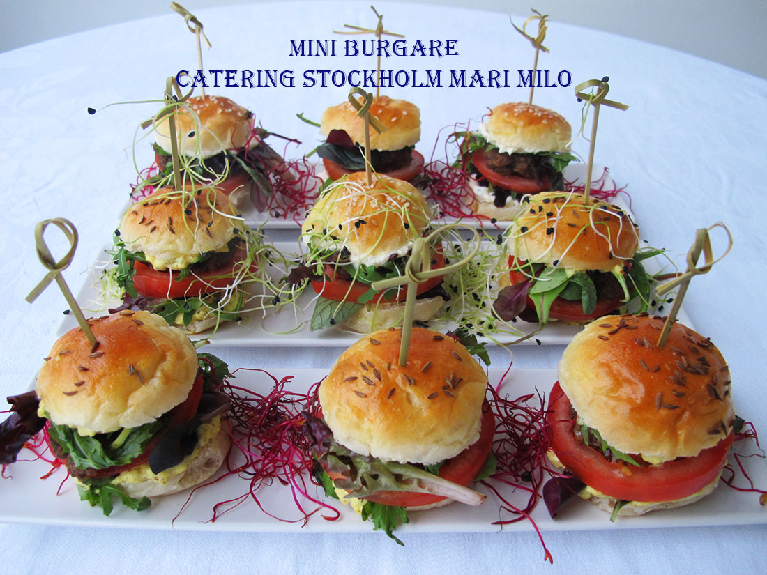 Mini Burgare Catering Stockholm