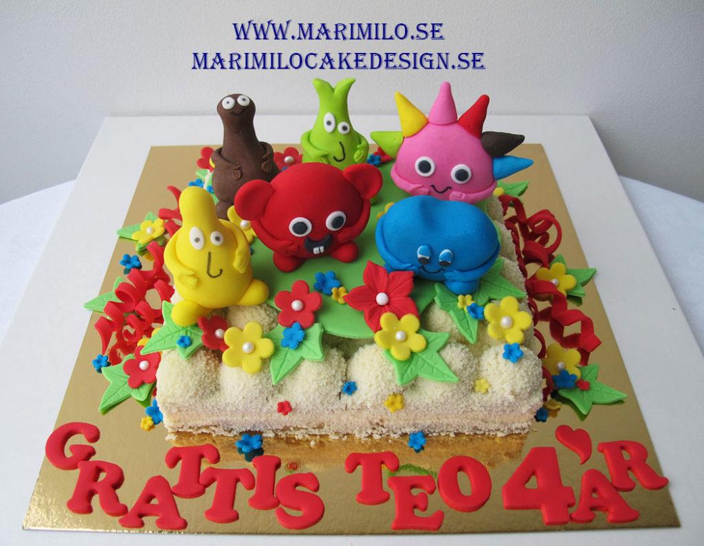 Beställ babblarna tårta Södertälje