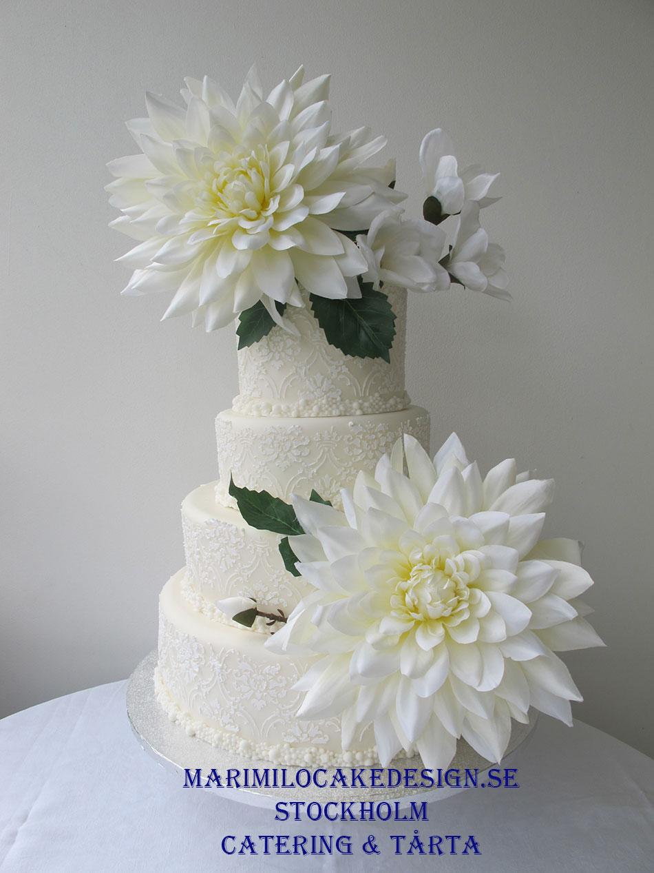 Bröllopstårta Vinter