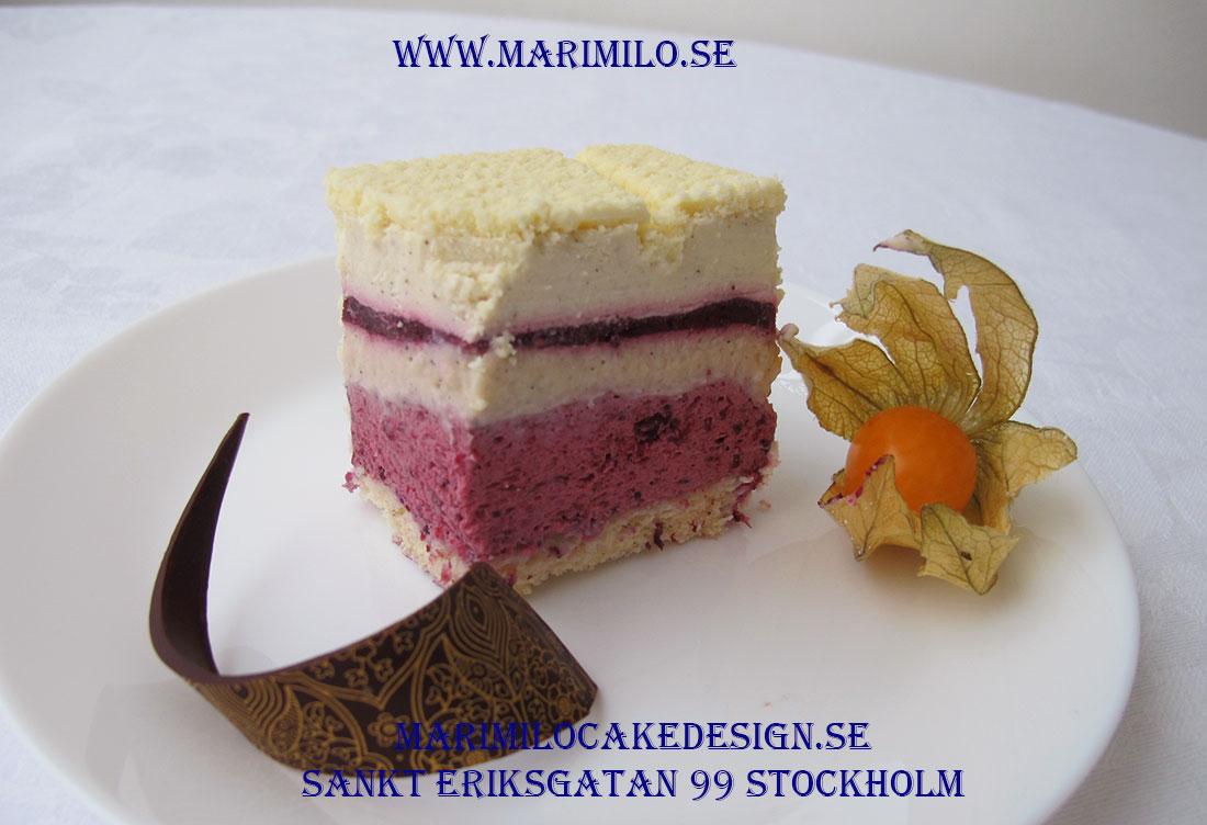 Skogsbärstårta bästa tårta