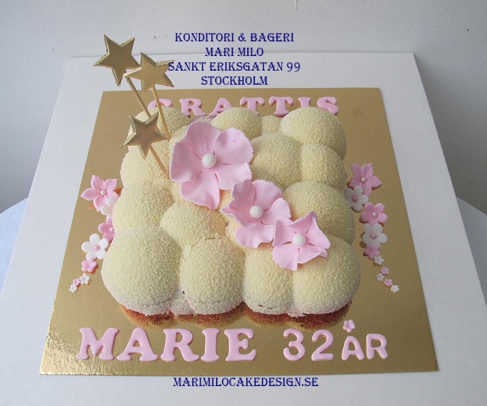 Stockholms bästa mousse tårtor