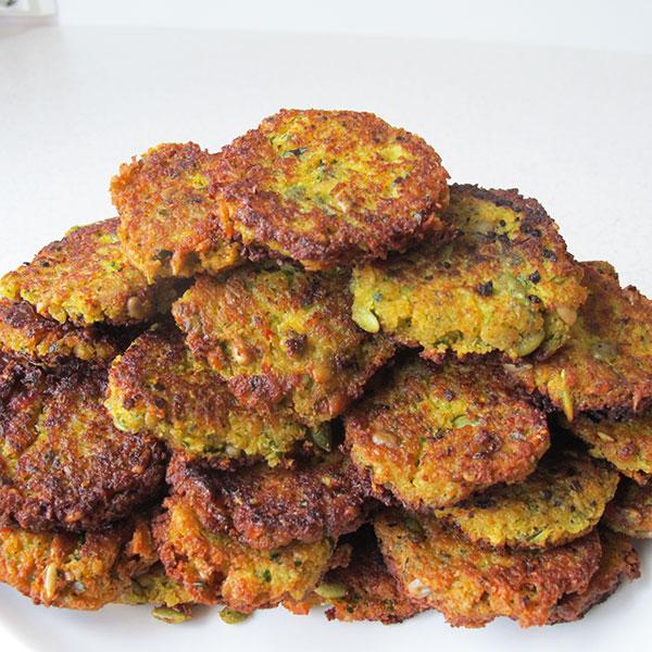 falafel lyx zucchini