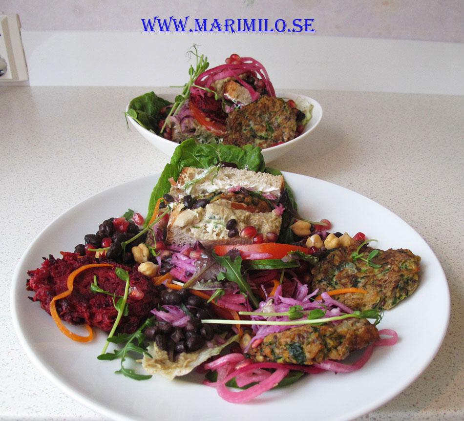Hälsocafe Livsnjutaren Stockholm Vegetarisk Mat