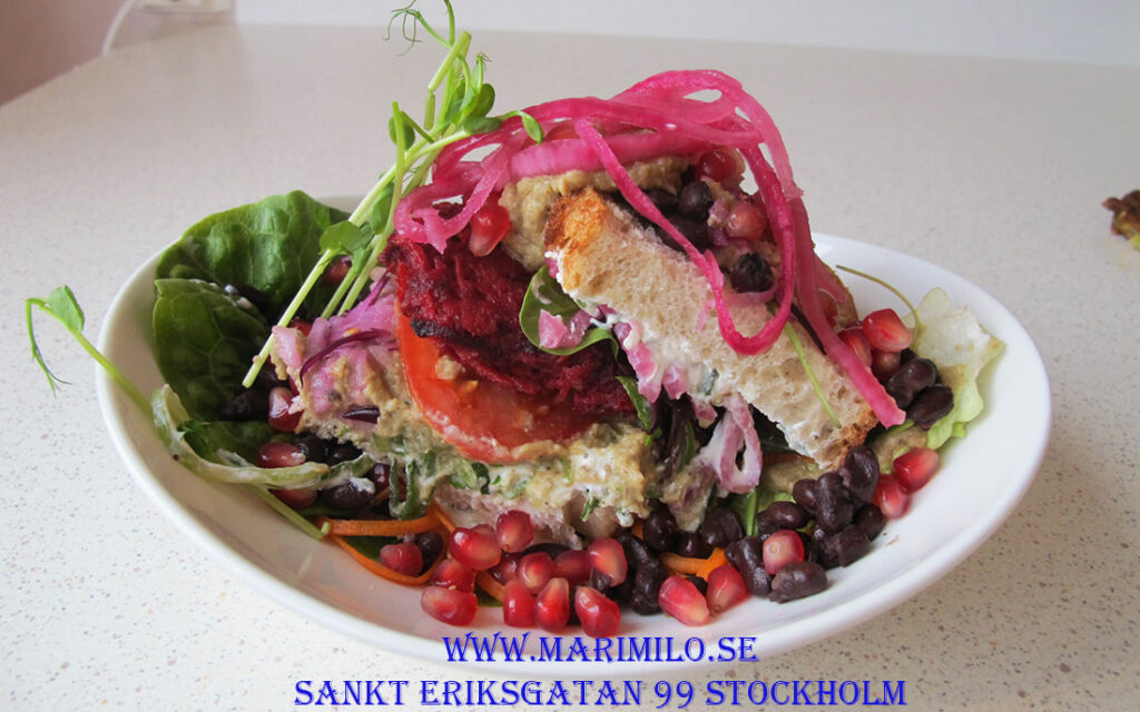 Hälsocafé Stockholm vegetarisk mat