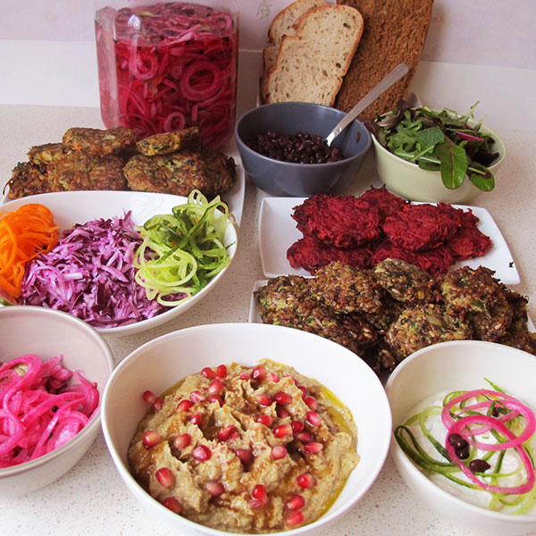 Hälsocafe Stockholm Falafel