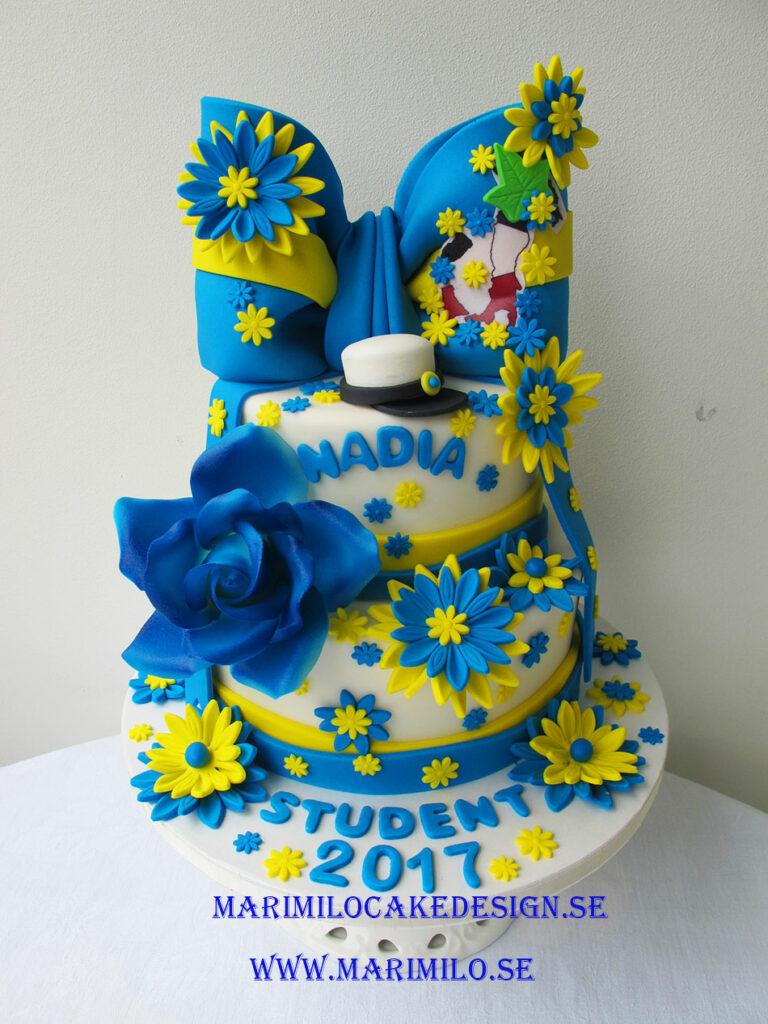 Stor studenttårta