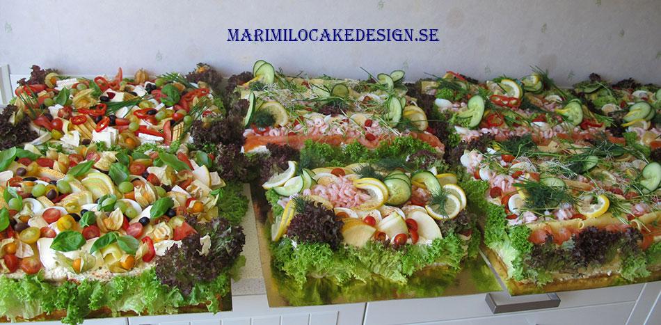 Smörgåstårtor Catering Stockholm