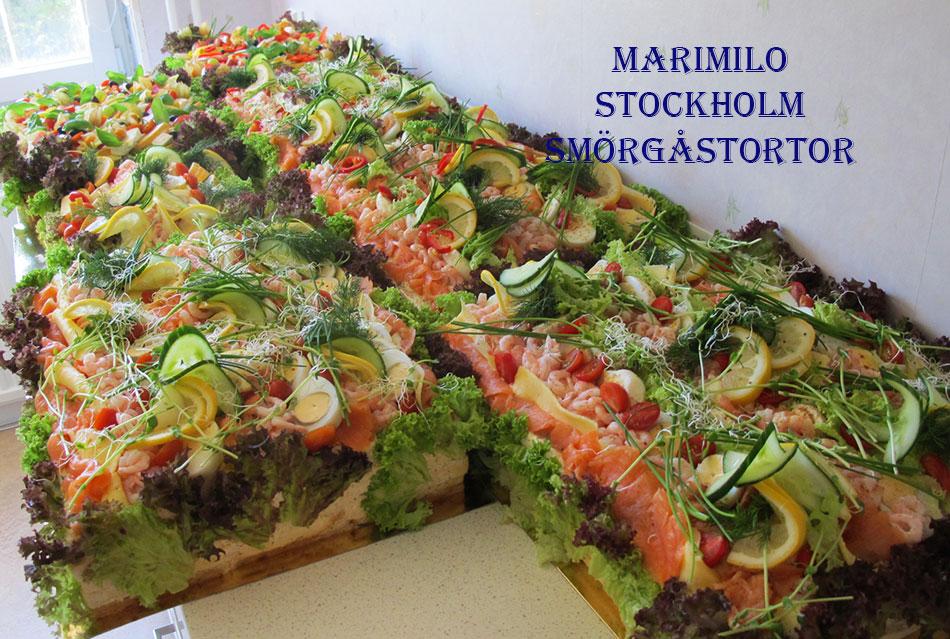 Beställa smörgåstårtor i Stockholm