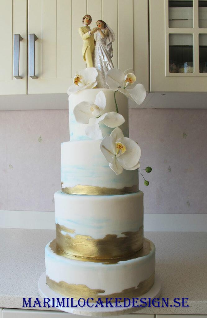 Bröllopstårta 100 bitar