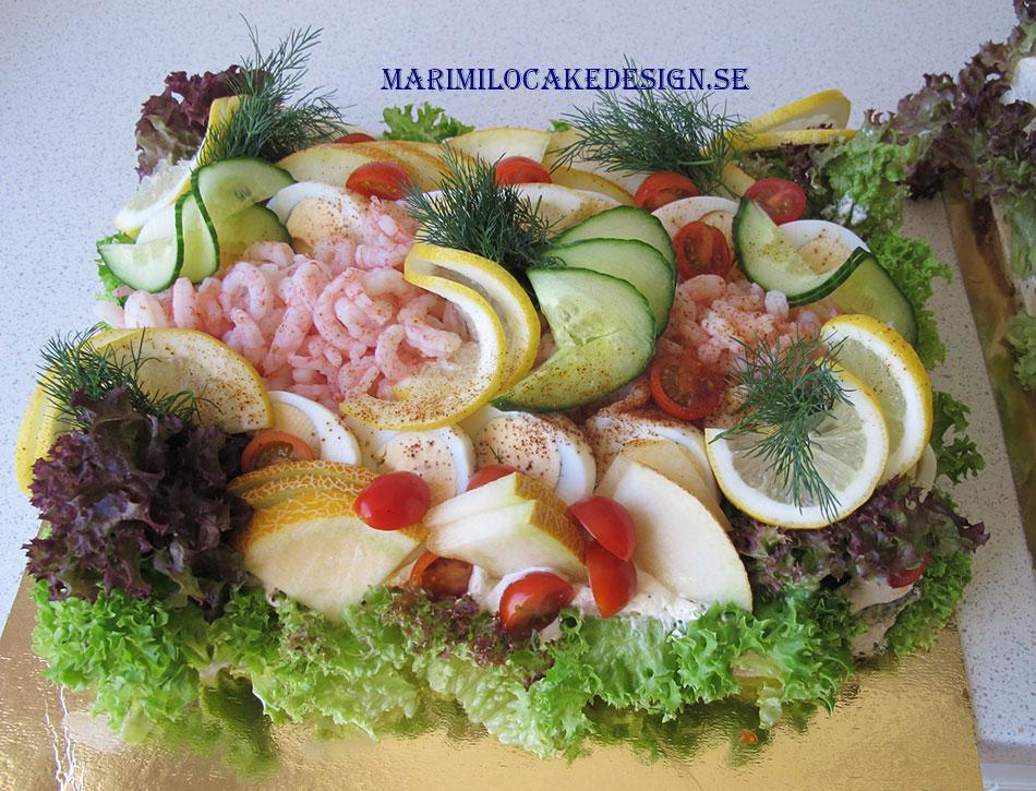 Smörgåstårta Mari Milo Stockholm