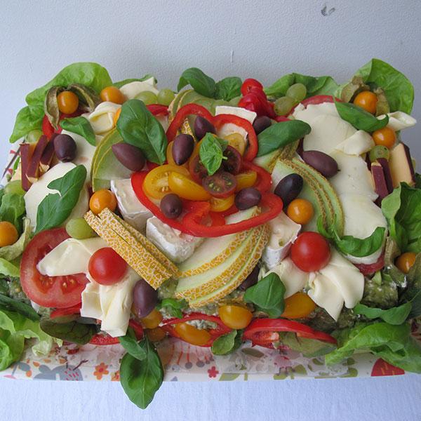 Smörgåstårta Vegetarisk