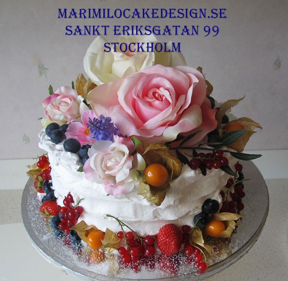 Beställa födelsedagstårta Stockholm
