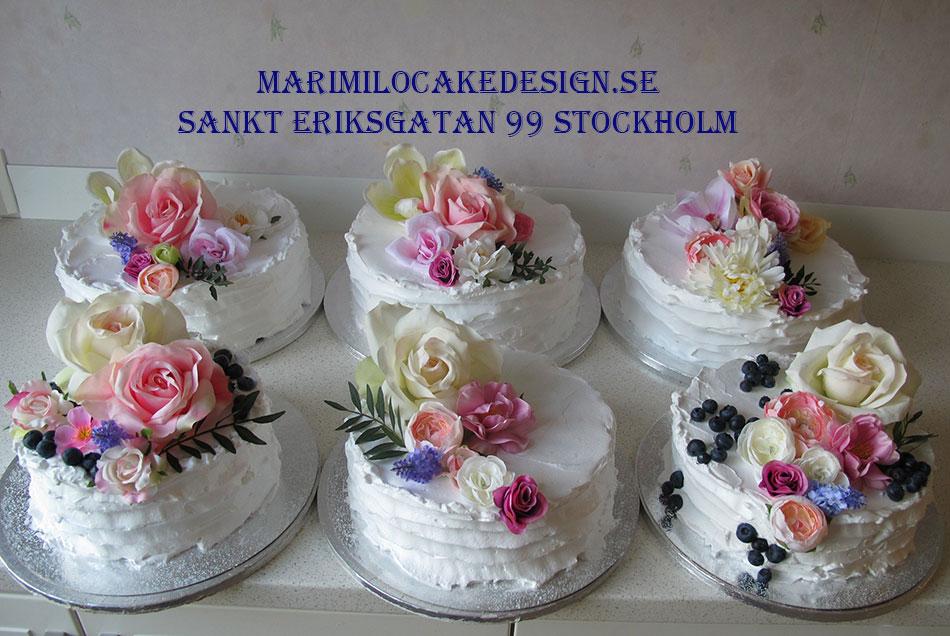 Bröllopstårta Stockholm billigt