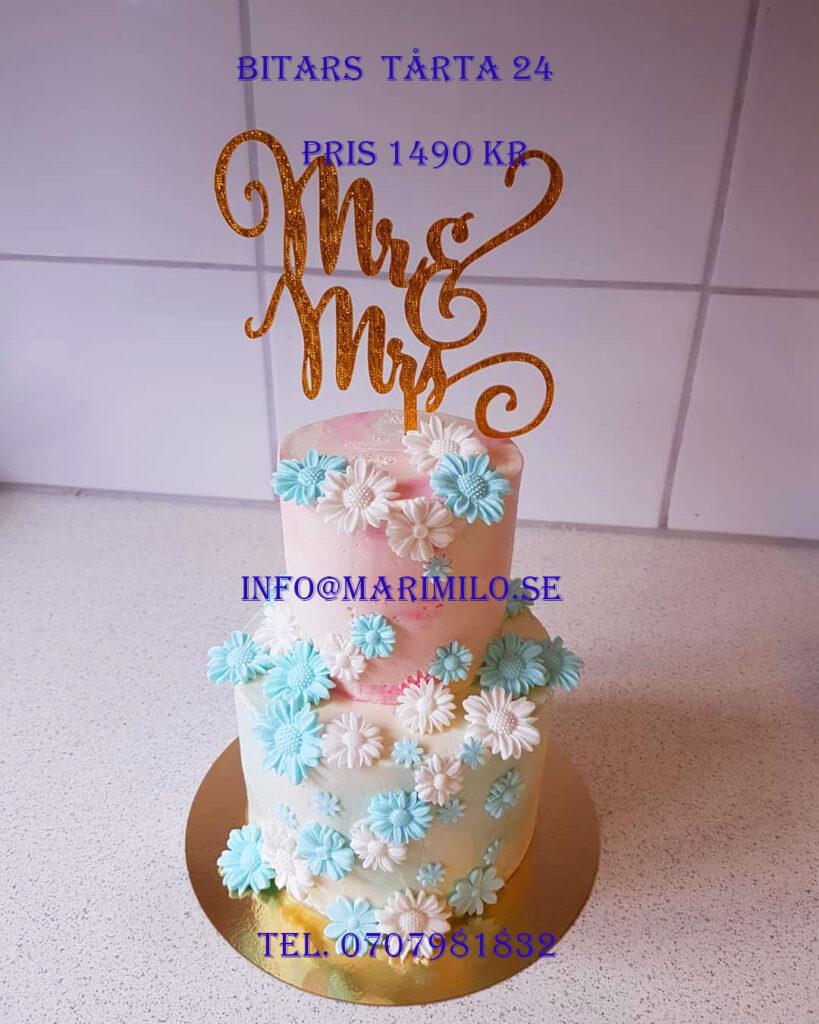 Bröllopstårta till låg pris