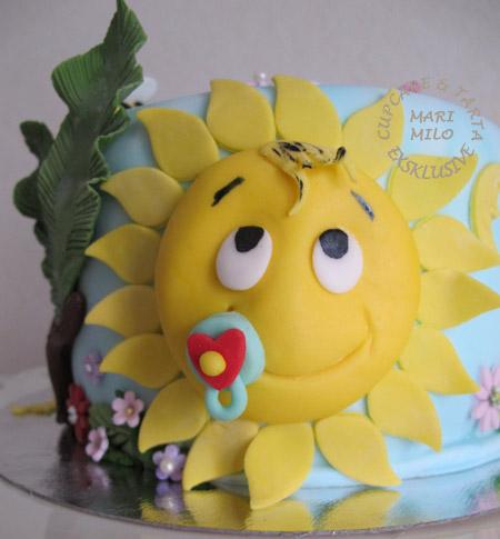 Sol tårta