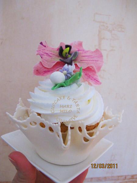 Dekorerade cupcakes