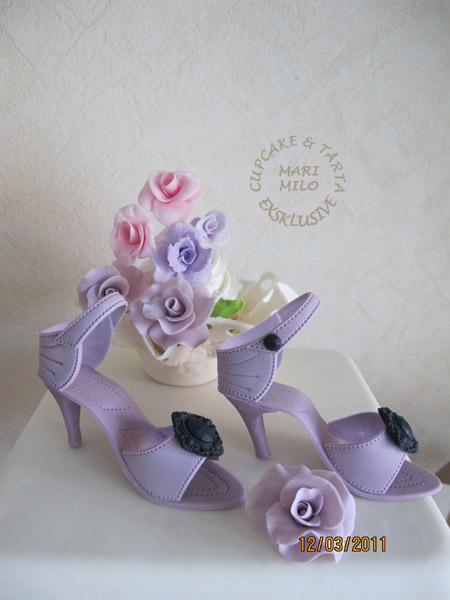 Högklackad sko tårta