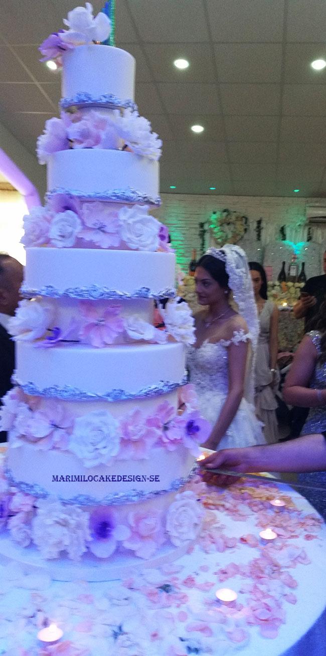 Stor Bröllopstårta i verkligheten