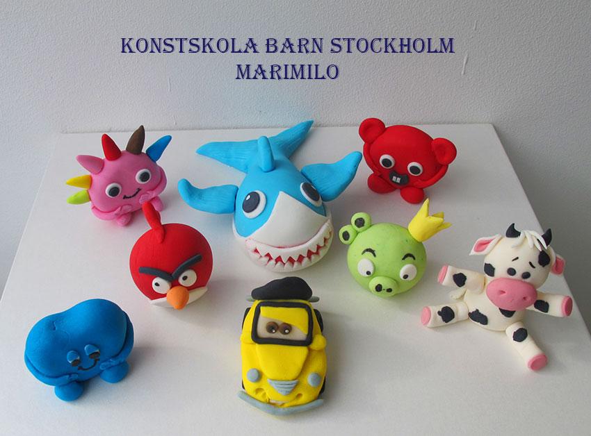 Hantverk, pyssel, konstskola, familj kurser Stockholm
