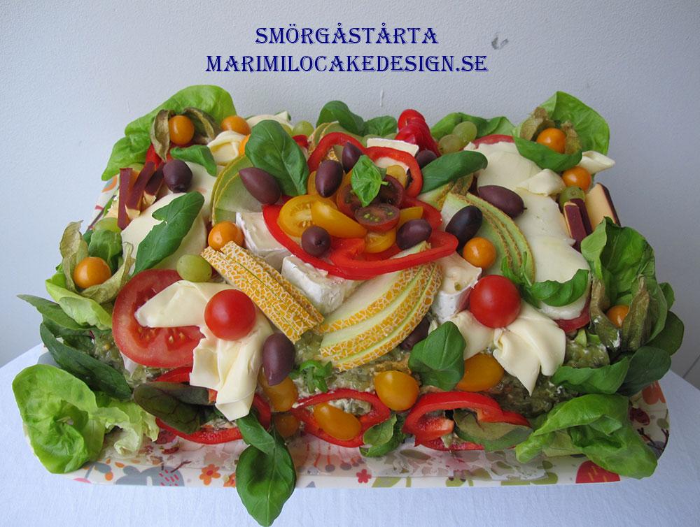 beställa smörgåstårta Solna
